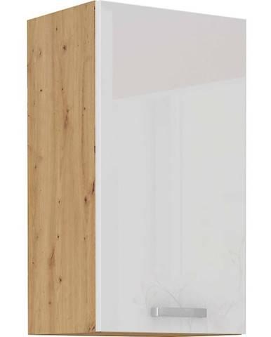 Skrinka do kuchyne ARTISAN biela lesklá 40G-72 1F