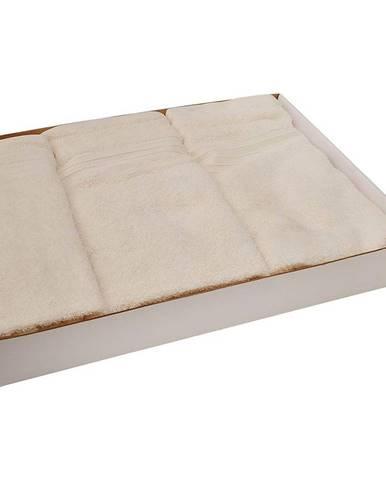 Set uterákov frotte 3cz kremový (550GSM)
