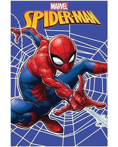 Flísová  Deka  100x150  Spiderman  Web