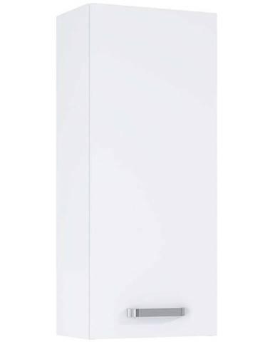 Závesná kúpeľňová skrinka Uno 30 1D white