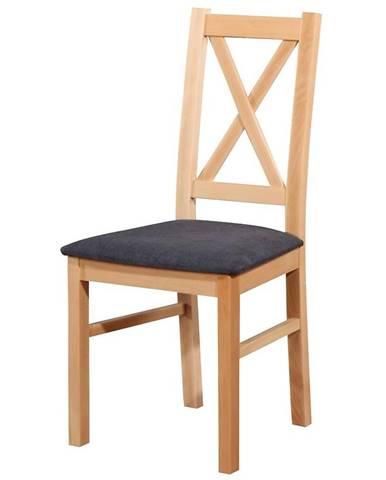 Stolička W113 bukový lak asti 19