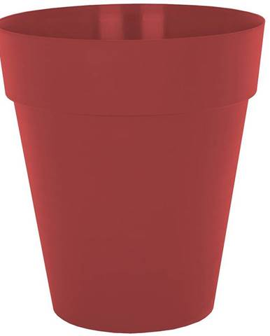 Kvetináč CAPRI HIGH 46 cm dark red