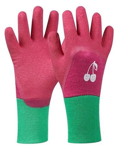 """Rukavice Tommi """"čerešňa"""" ružové 4-6 LAT"""