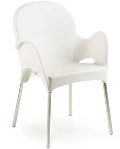 Stolička Atena kolor biela
