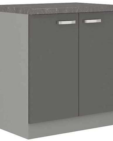 Skrinka do kuchyne Grey 80d 2f bb