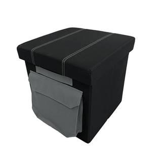 Idana taburetka čierna