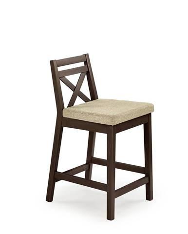 Borys Low barová stolička orech tmavý