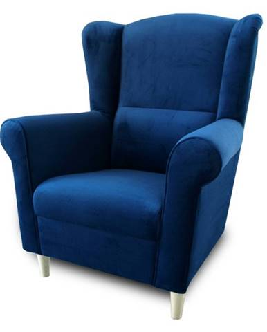 Charlot kreslo modrá