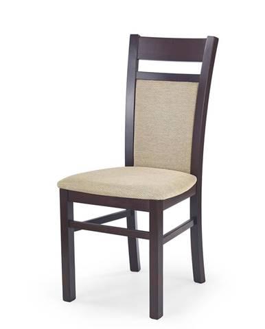Gerard 2 jedálenská stolička tmavý orech