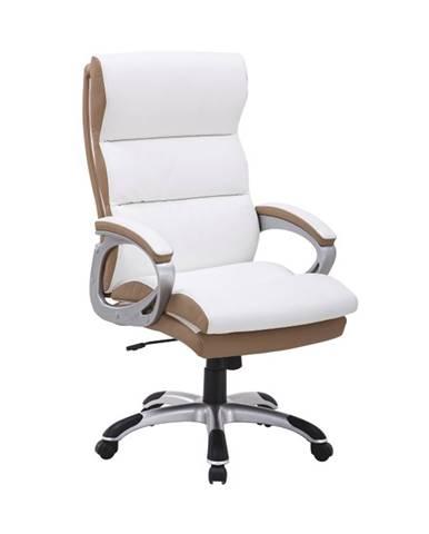 Kolo CH137020 kancelárske kreslo s podrúčkami biela