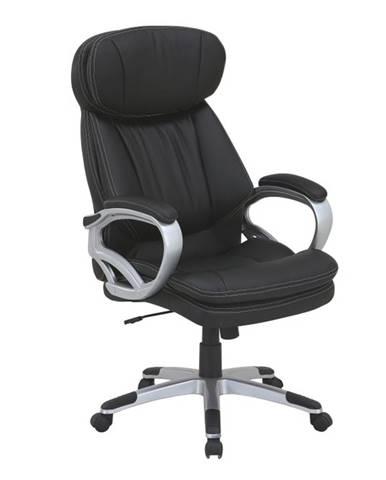 Rotar kancelárske kreslo s podrúčkami čierna