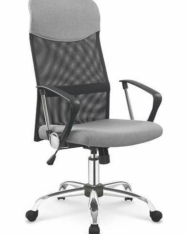Vire 2 kancelárska stolička s podrúčkami sivá