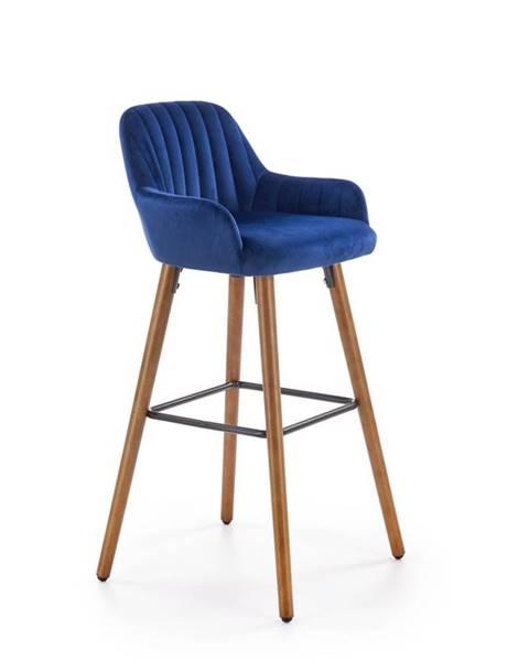 Halmar H-93 barová stolička granátová