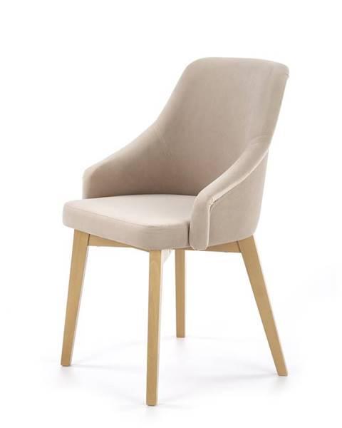 Halmar Toledo 2 jedálenská stolička dub medový
