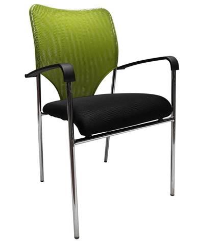 Umut konferenčná stolička zelená