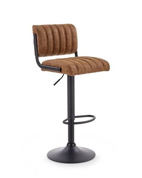 Halmar H-88 barová stolička hnedá