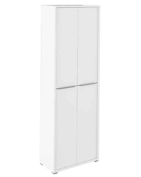 Tempo Kondela Rioma Typ 05 štvordverová kancelárska skriňa biela