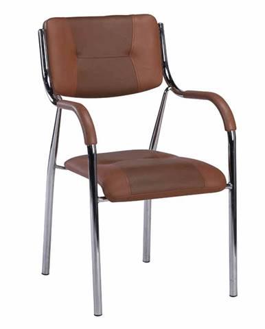 Ilham konferenčná stolička hnedá