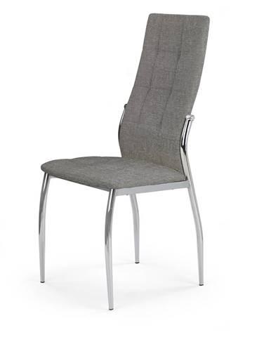 K353 jedálenská stolička sivá