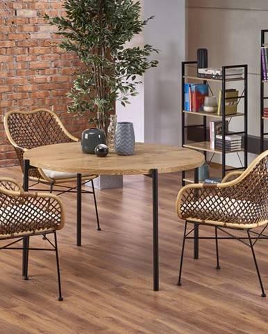Morgan okrúhly jedálenský stôl dub zlatý