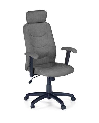 Stilo 2 kancelárske kreslo s podrúčkami tmavosivá