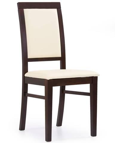 Sylwek 1 jedálenská stolička orech tmavý