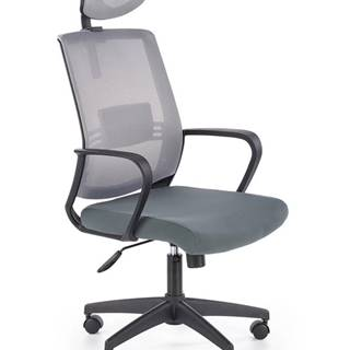Arsen kancelárske kreslo s podrúčkami sivá