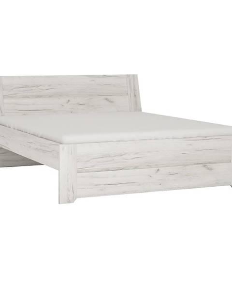 Tempo Kondela Angel Typ 92 160 manželská posteľ biela
