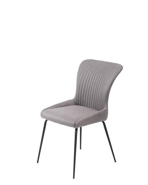 Halmar K341 jedálenská stolička sivá