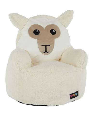 Baby Typ 3 sedací vak biela