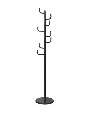 Elder kovový vešiak čierna