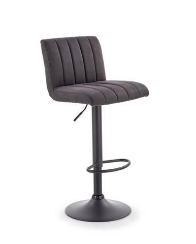 H-89 barová stolička tmavosivá