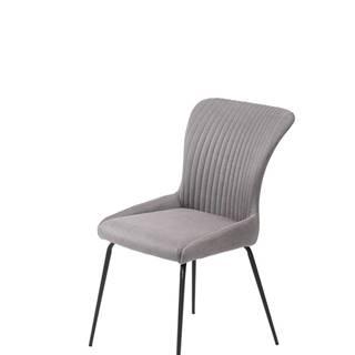 K341 jedálenská stolička sivá