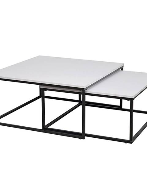 Kondela Kastler Typ 1 konferenčný stolík (2 ks) čierna
