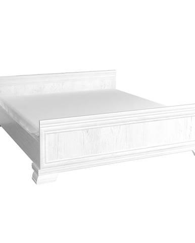 Kora KLS 160 rustikálna manželská posteľ s roštom sosna Andersen