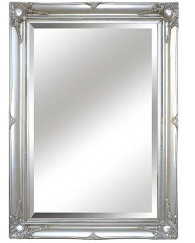 Malkia Typ 7 zrkadlo na stenu strieborná