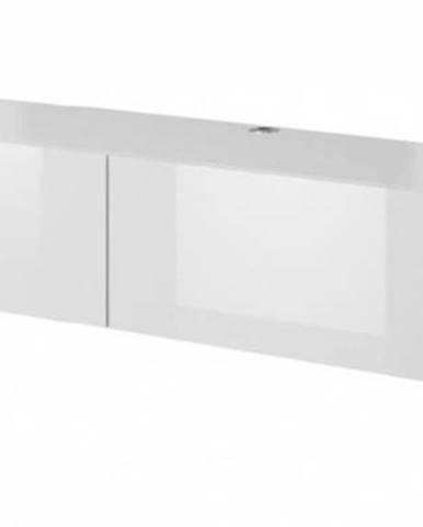 Slide 200 tv stolík na stenu biela
