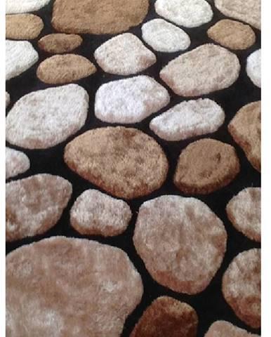 Pebble Typ 2 koberec 120x180 cm hnedá