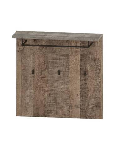 Bova HP vešiakový panel pieskový dub