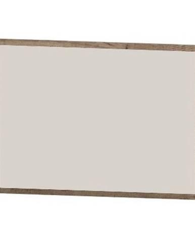 Bova MP zrkadlo na stenu pieskový dub