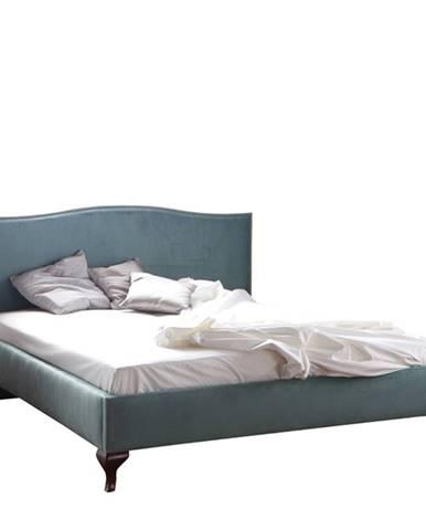 Classic CL-2 140 čalúnená manželská posteľ mentolová (B3 5056 A)