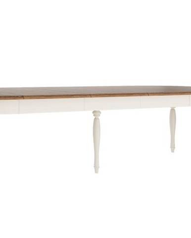 Florencja FL-S1 rozkladací jedálenský stôl so skrinkou vanilka