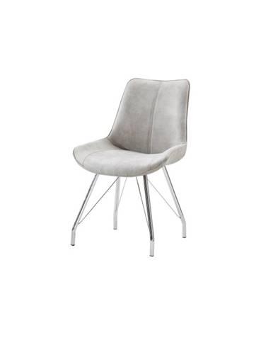 Madora jedálenská stolička sivá
