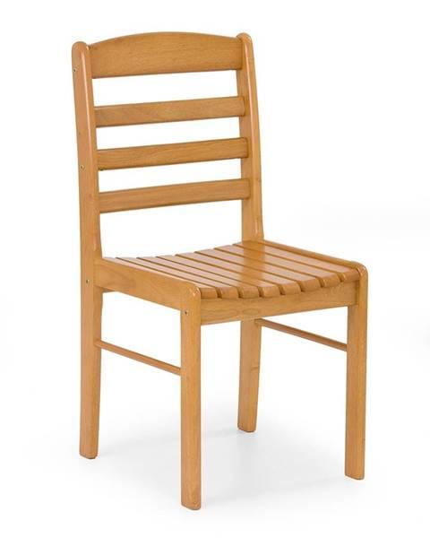 Halmar Bruce jedálenská stolička jelša zlatá
