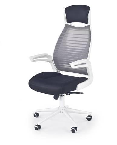 Franklin kancelárska stolička s podrúčkami biela