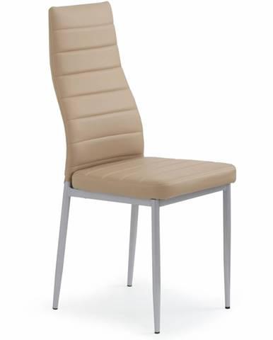 K70 jedálenská stolička svetlohnedá
