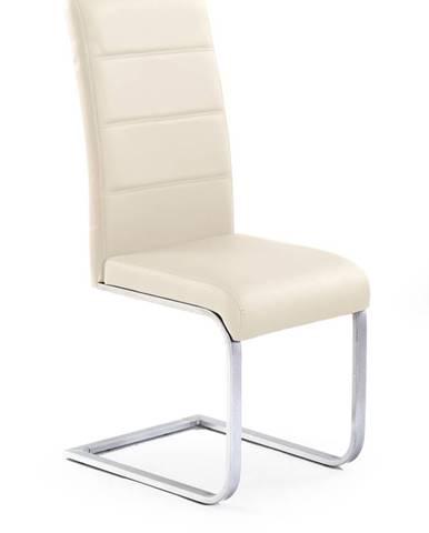 K85 jedálenská stolička krémová