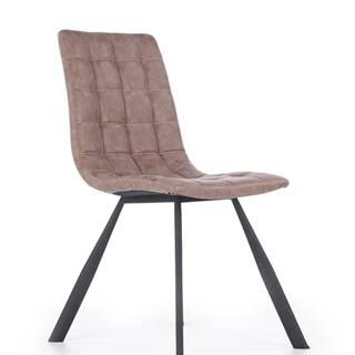 K280 jedálenská stolička hnedá