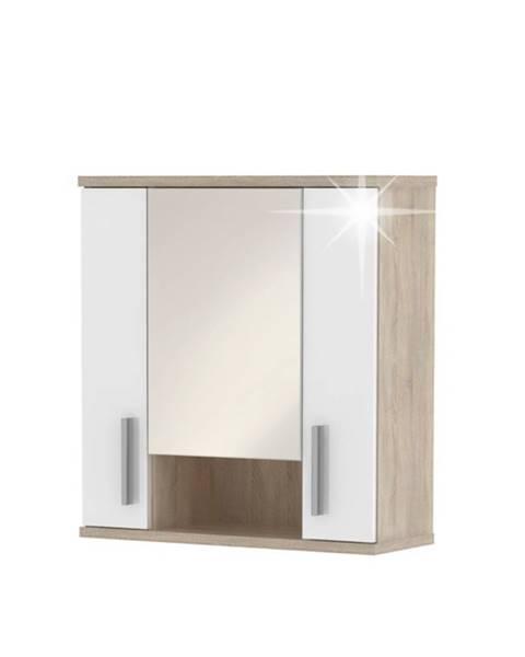 Tempo Kondela Lessy LI 1 kúpeľňová skrinka na stenu dub sonoma