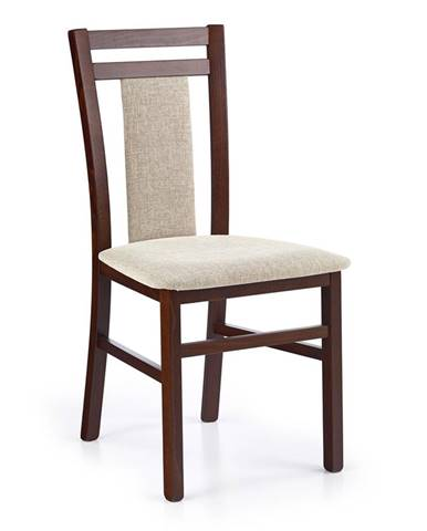 Hubert 8 jedálenská stolička tmavý orech